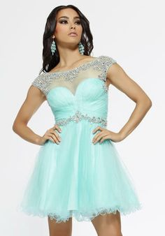 Short dress for prom maybe?