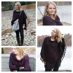 INDIGENOUS novelty poncho as styled by blogger Brandi Mendenhall on the Fair Trade Fashionistas blog (http://thefairtradefashionistas.wordpress.com/2012/11/20/indigenous-a-review-of-fairly-traded-style-and-comfort/)