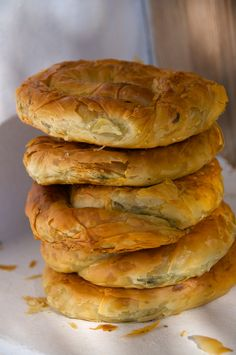 Spanakopita, Greek Spinach Pie from Amorgos Island