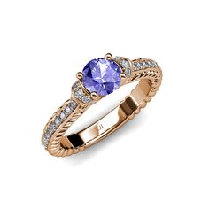 If you're looking for an #engagement #ring with a difference, look no further than TriJewels Collection of #Tanzanite Rings. Enjoy Free delivery with orders. #birthstone #gift #love #christmas #trijewels