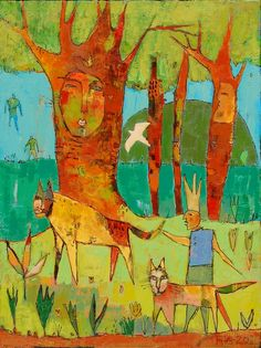 "Das Gatos 19.5"" x 25.5"" aoc $2200  - The Mahler Fine Art, Raleigh, NC"