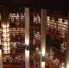 Thomas Fisher Rare Book Library, University of Toronto, Toronto, Ontario, Canada University Of Toronto, Library University, Toronto Photography, World Library, Beautiful Library, Architecture Details, Toronto Architecture, I Love Books, Libraries