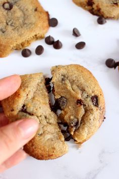 The Ultimate LOW CARB Chocolate Chip Cookies - gluten free, grain free and no added sugar!