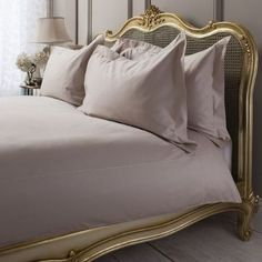 Chelsea Taupe Brown Egyptian Cotton Quilt Cover Set, Available in 3 sizes - Starting from £69 | brandinteriors.co.uk