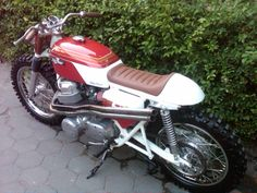 "Honda CB750 K1 Scrambler ""The Selvaggio"" by Tedjo Klasyk #motorcycles #scrambler #motos | caferacerpasion.com"