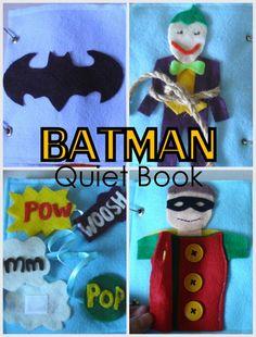 Batman Busy Book