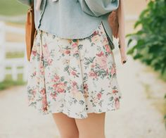 There is nothing childish or costumey or dated about floral print. It is a joyful and elegant and honest way to dress in Spring.