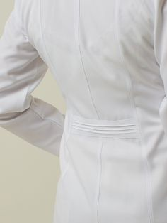 Lab Coats For Men, Doctor White Coat, Scrubs Outfit, Medical Scrubs, Nursing Dress, Chef Jackets, Lady, Outfits, Clothes
