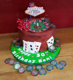 My husbands roulette cake Royal icing sugarpaste chocolate airbrushing