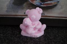 Baby met beer Meisje | *Nieuw Februari Zeep* | Just soap