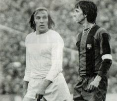 Günter Netzer & Johan Cruyff 70's