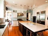 Transitional Glam Kitchen - traditional - kitchen - chicago - by Normandy Remodeling