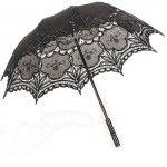 Parasol de encaje estilo Ropa Gotica