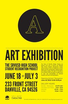 art exhibition poster design - Google Search