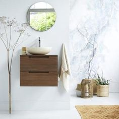 Waschtisch aus Teak 60 Romeo Raw Wood Furniture, Cool Furniture, Bathroom Vanity Cabinets, Bathroom Furniture, Selling Furniture, Furniture Making, Contemporary Bathrooms, Modern Bathroom, Teak Bathroom