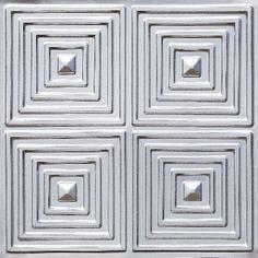 125 Faux Tin Ceiling Tile