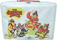 Aw, man, I miss my Banana Splits lunch box.>>>>old school cool Vintage Ads, Vintage Designs, Little Sisters, Little Girls, 70s Cartoons, Vintage Lunch Boxes, Bottles For Sale, Banana Split, Theme Song