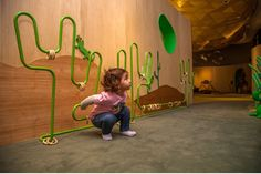 Image 6 of 11 from gallery of 0 a 3 Museo de los Niños Abasto / Gruba. Photograph by Maximiliano Bort Playground Design, Indoor Playground, Home Daycare, Kids Play Area, Kids Zone, Learning Spaces, Activity Centers, Kid Spaces, School Design