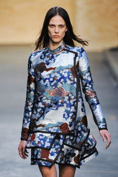 Proenza Schouler I've been waiting for Japanese prints to come around