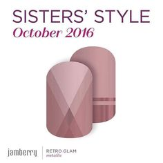 #nailbox #sse #sistersstyleexclusive #sistas #style #exclusive #jamberry #october #octoberonly #nailart #retro #retroglam #fashionable http://bit.ly/2cXoBQz