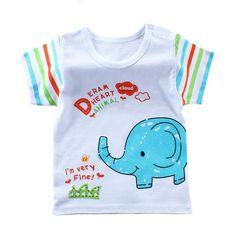 5da763946af1 Please Log In. Summer Cartoon Baby T-Shirts Short Sleeve Kids Boys ...