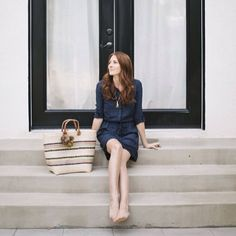 Shirtdresses are versatile, comfortable and universally flattering. They easily go from casual to office- or date-ready with the addition of some simple accessories and a change of shoes.
