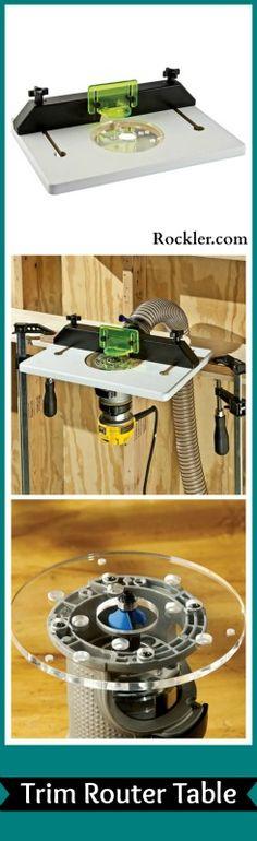 Trim Router Table - Rockler.com