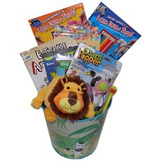 Ultimate looney tunes tweety bird easter gift basket for https deluxe safari creative gift basket for ages 3 perfect for easter birthdays christmas get well or other occasion negle Choice Image