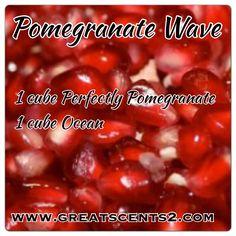 Pomegranate Wave Scentsy Recipe www.jennywilliamson.scentsy.us
