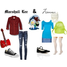 Designer Clothes, Shoes & Bags for Women Comic Con Costumes, Cosplay Costumes, Couple Outfits, Emo Outfits, Marshall Lee Cosplay, Marceline Costume, Fandom Fashion, Casual Cosplay, Geek Humor