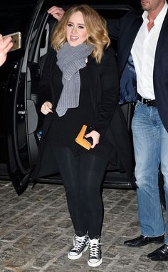 Adele, Jennifer Lawrence and Emma Stone Have a Girls' Night Out in NYC | E! Online