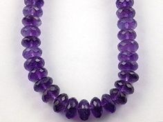 1 Strand Natural African Amethyst Faceted Rondelle 8-9.5m... https://www.amazon.com/dp/B075HCCTR9/ref=cm_sw_r_pi_dp_x_rl1Yzb36NWHBY