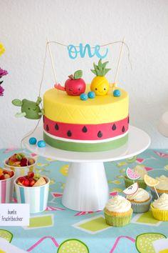 DIY Tutti Frutti Torte