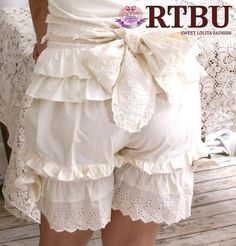 Women's Bloomer Shorts - Squeeeeee! these are so cute. I'm going to go make a pair! Who wants one?