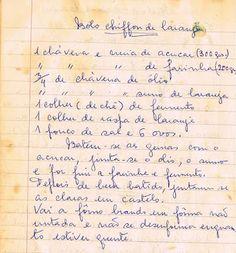 As Receitas da Avó Helena e da Avó Eduarda: Abril 2012