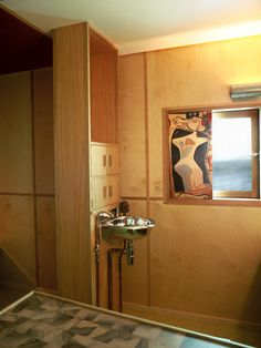 Le Corbusier's Cabanon – the interior