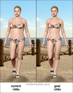 My virtual weight-loss model..... :)