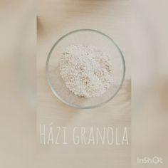 Házi granola Granola, Food, Essen, Meals, Yemek, Muesli, Eten
