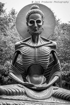 Tagged with scary, creepy, statue, ireland; The Starving Buddha statue at Victors Way in Wicklow Ireland Buddhist Symbol Tattoos, Hindu Tattoos, Buddha Tattoos, Baby Buddha, Gautama Buddha, Old Cemeteries, Buddha Art, Angel Statues, Tibetan Buddhism
