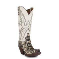 ac42b14b8 Women's Lucchese Classics Boots Eastern Rattlesnake #GD9193-5/2F – Allens  Boots Vintage