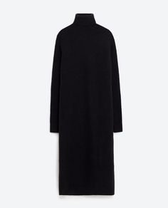 Image 8 of ROLL NECK LONG DRESS from Zara