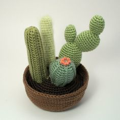 PDF Cactus Collections eight realistic CROCHET PATTERNS