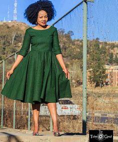 majoress - Off Shoulder African Print Seshweshwe Dress Latest African Fashion Dresses, African Dresses For Women, African Print Dresses, African Print Fashion, Africa Fashion, African Attire, African Prints, Nigerian Fashion, Ghanaian Fashion