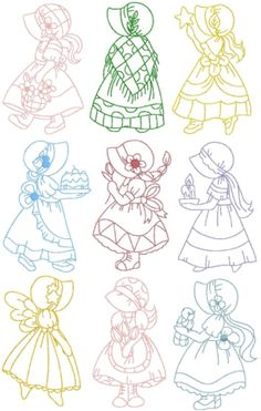 Purrfect Stitchers (Search results for: sunbonnet sue) Quilt Patterns Free, Applique Patterns, Applique Quilts, Embroidery Applique, Cross Stitch Embroidery, Machine Embroidery Designs, Applique Tutorial, Embroidery Sampler, Cross Stitches