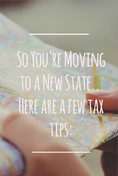 So You're Moving to a New State. So You're Moving to a New State. Here are some Tax tips: Everyone knows Uncle Sam – he takes his Did you know, in some cases, people can pay more in state and local income taxes than they do federal taxes?