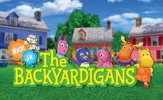 The Backyardigans nick jr tv showm this show is kind of cute.