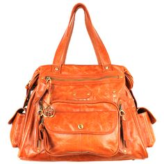 """Love this color Corcovado. HH have the most buttery leathers"" I don't know about all of that but I do like this purse!!"