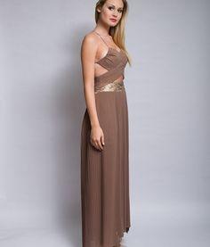 Elegante y ligero vestido para fiesta, a  tu medida.