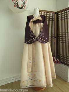 """""""Korean Traditional Clothes Women HANBOK Dress SET"""" Love it! I'd totally wear this."""