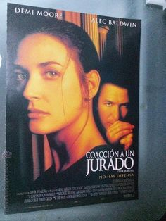 Coacción a un jurado. Actores: Demi Moore y alec Baldwin. Columbia Pictures